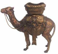 outdoor life size brass camel or kangaroo statue for garden yard decoration