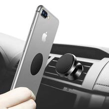 Customized 360 Degree Adjustable Air Vent Magnetic Car Phone Holder, Automatic Universal Mobile Magnetic Car Phone Holder