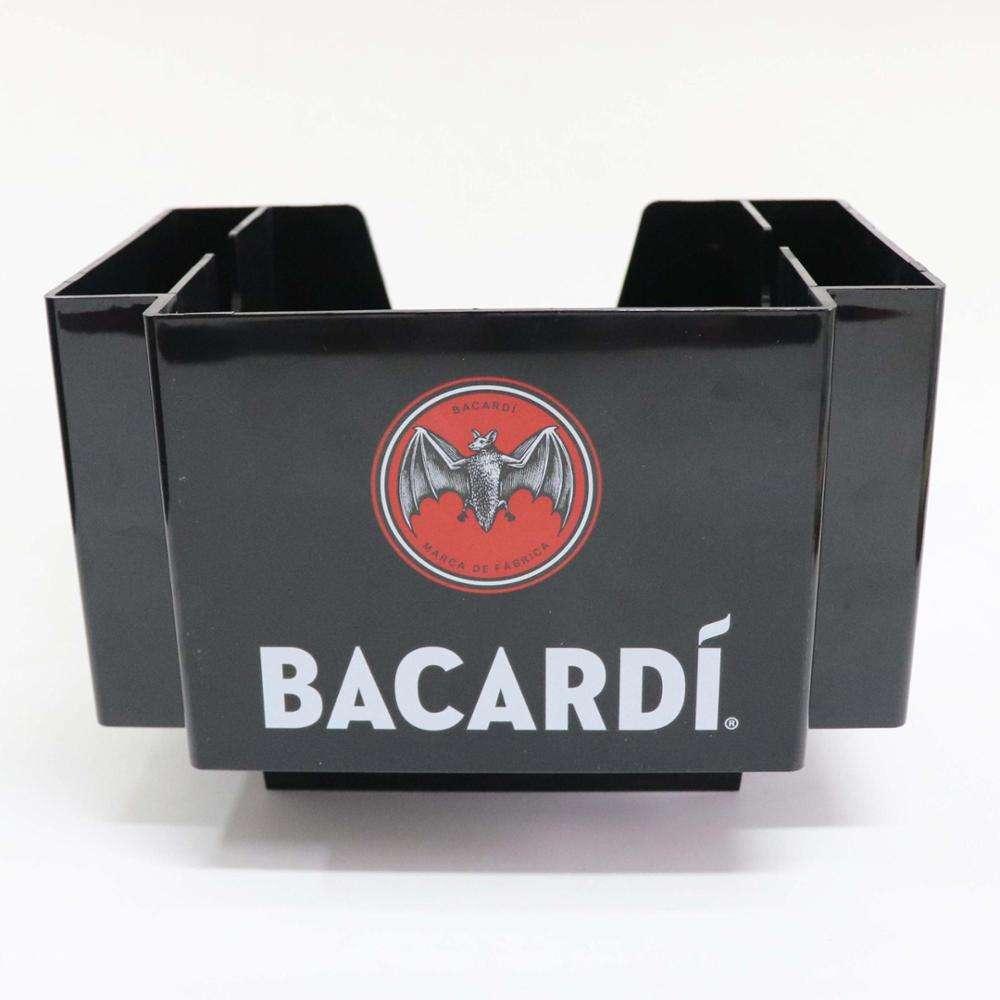 Black Plastic Bar Caddy Organizer