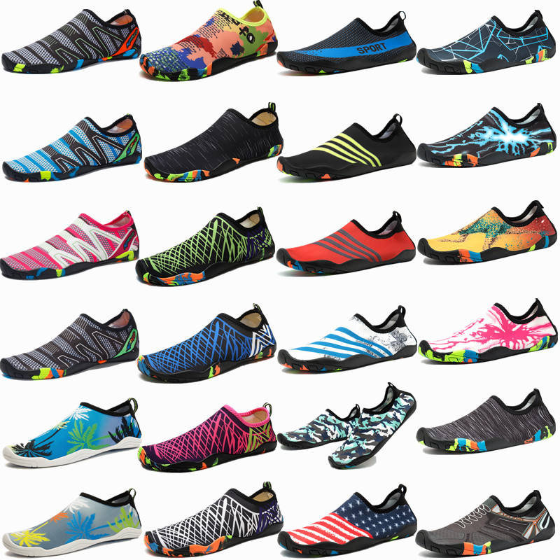 Barefoot Water Shoes Quick Dry Unisex Sports Aqua Shoes Lightweight Durable Sole for Beach Pool Sand Swim Surf Yoga