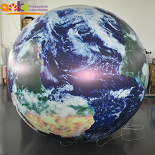 Inflatable earth balloons/ inflatable earth globe/inflatable planet ball  for decoration