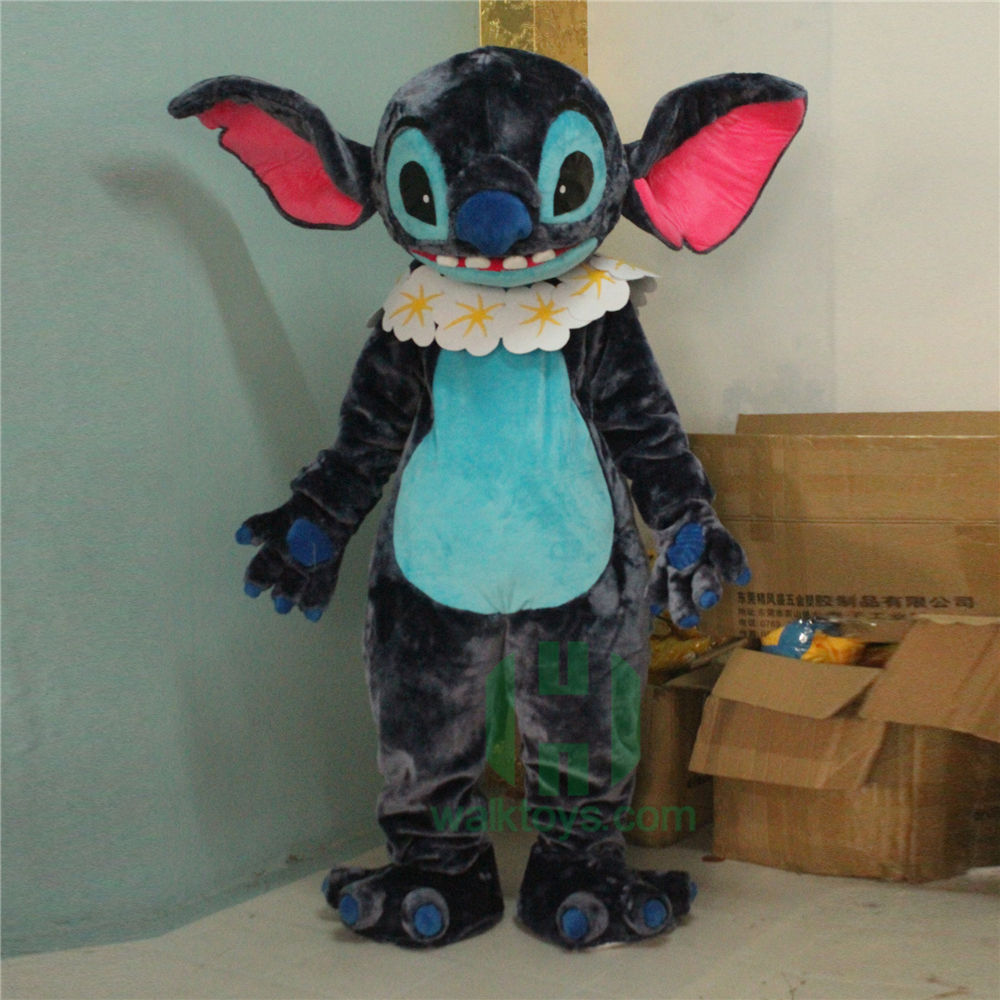 HI CE hot selling adult walking stitch mascot costume for party
