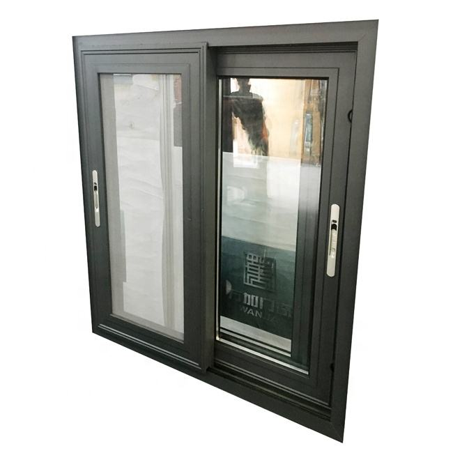 Heat & Sound insulation aluminum windows and doors /sliding double glass window for house