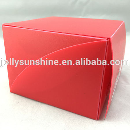 Dual Deck Box with different color for 180 pcs game card with sleeve