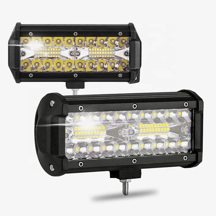 Fabrik preis 12v led strobe twin reihe led light bar ATV UTV UAZ lkw 72w led licht bar