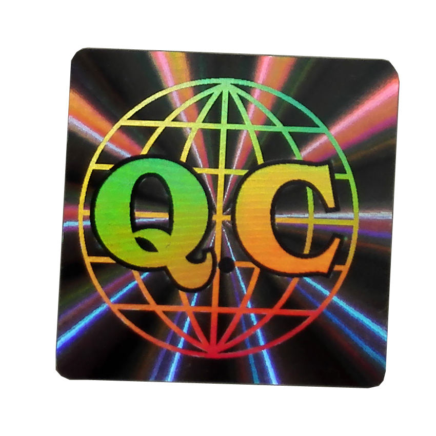 Custom security tamper proof hologram sticker