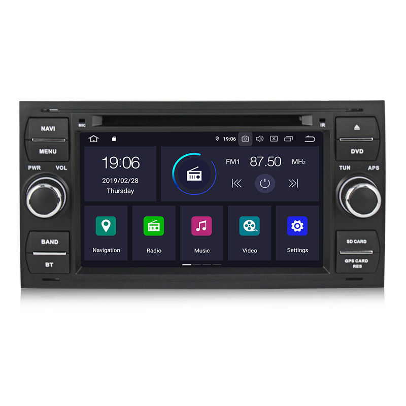 "MEKEDE 7 ""2DIN Android 9.0 Auto <span class=keywords><strong>DVD</strong></span>-Player für Ford focus CMax Verbinden Fiesta Fusion Galaxy Mondeo SMax stereo audio gps IPS + DSP"