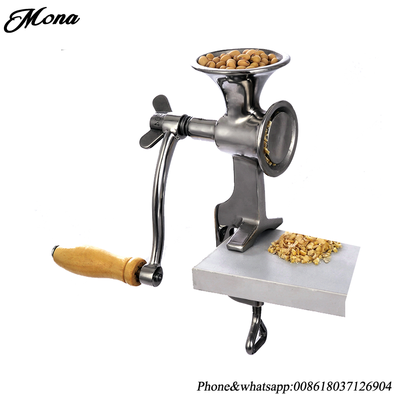 Peanut cashew nut hand operated mill