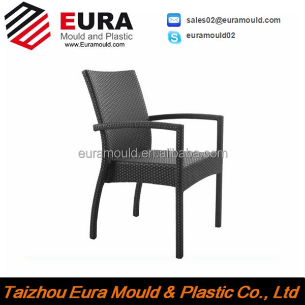 Taizhou EURA Fashion office chair rattan chair mould plastic rattan Chair mould