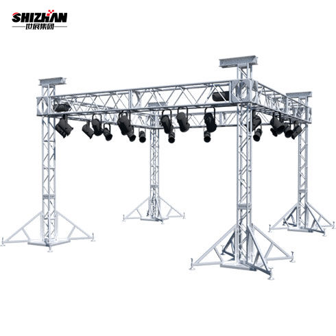 Truss display concert stage roof truss curved roof truss