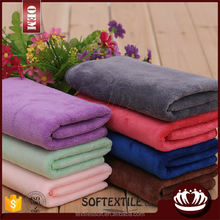 80% polyester 20% polyamide super soft thicken car washing microfiber towel