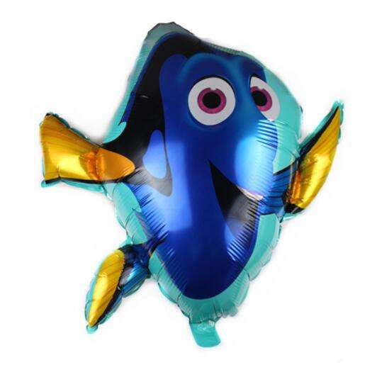 Amazon Hotsale Giant Cartoon Foil Character Balloon Inflatable 73x80 cm Sea Fish Balloons