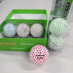Best quality For PGA Master golf tournament golf balls for colorful gift cherry blossom golf balls 2 and 3 layers