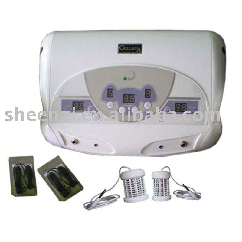 duale systeem ion reinigen/detox foot spa machine met twee mp3 en twee arrays