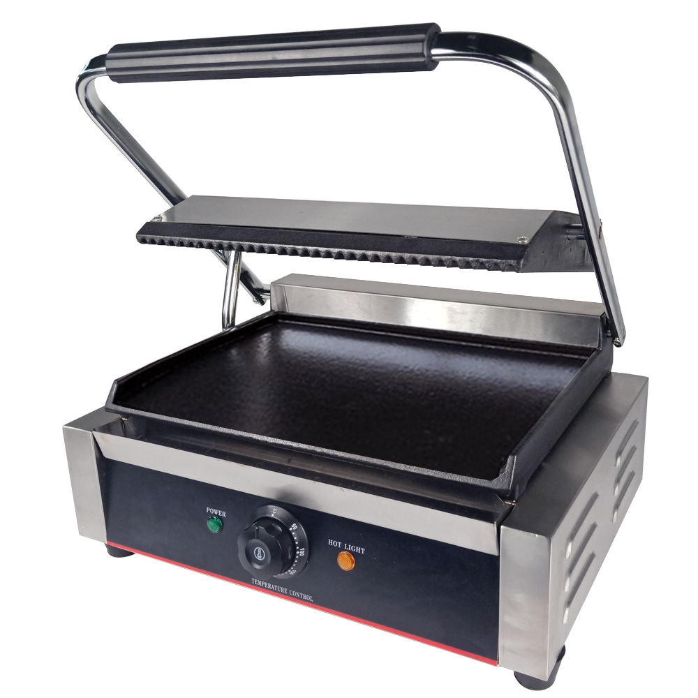 Non-stick Iron Plate Configuration commercial contact grill panini grill press