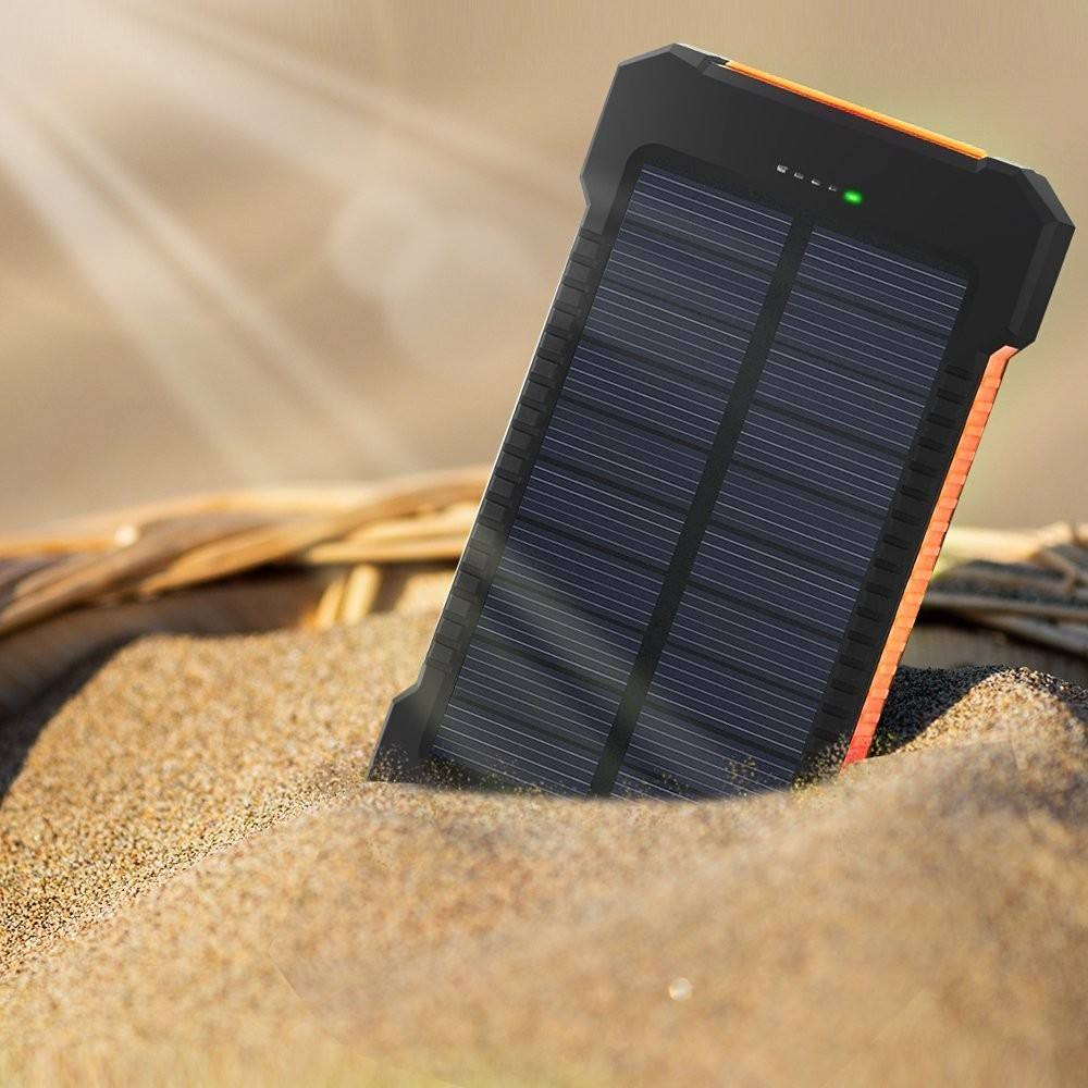 PSE CE ROHS Waterproof Mobile Cell Phone Charger Solar Power Bank Charger 8000Mah 10000mah