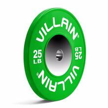 Competition color rubber bumper plates