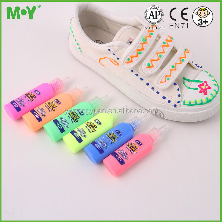 2016 New Jewelry set 3D style Art Paint DIY Gluefor Fabric T-shirt Shoes Window Painting