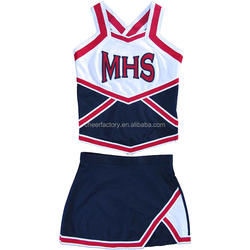Factory Supplier cheerleader uniforms cheering apparel cheer wear