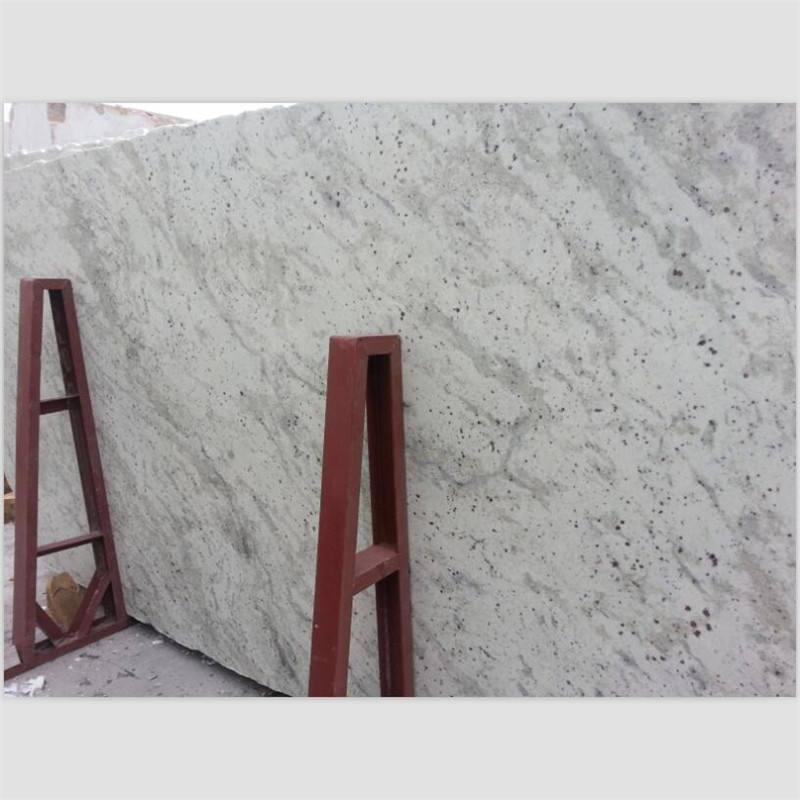Hot sell white granite Andromeda White polishing slab
