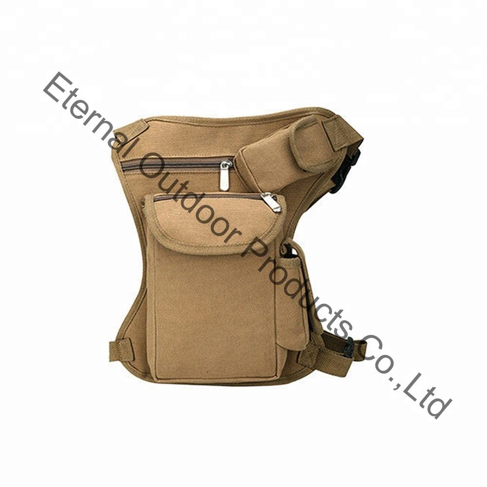 Tactical Military Drop Leg Bag Waist Belt Fanny Bag