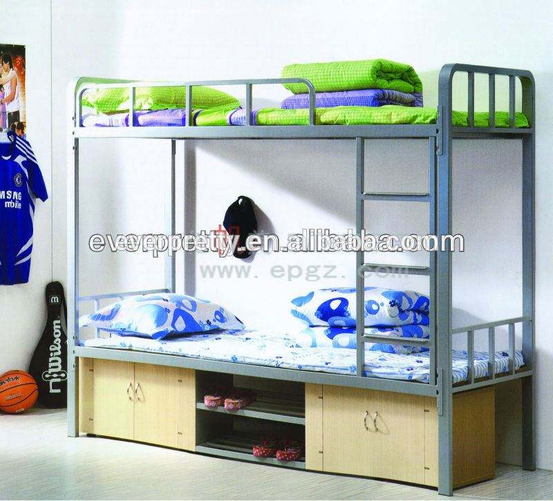 Bedroom Furniture Metal Twin Bunk Bed,Modern Military Bunk Bed Designs from China,Bedroom Furniture Metal Bunk Bed Frame Slats