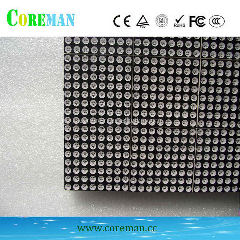 3 warna led modul p4.75 f3.75 led modul warna merah hijau 8X8 led modul display dot matrix