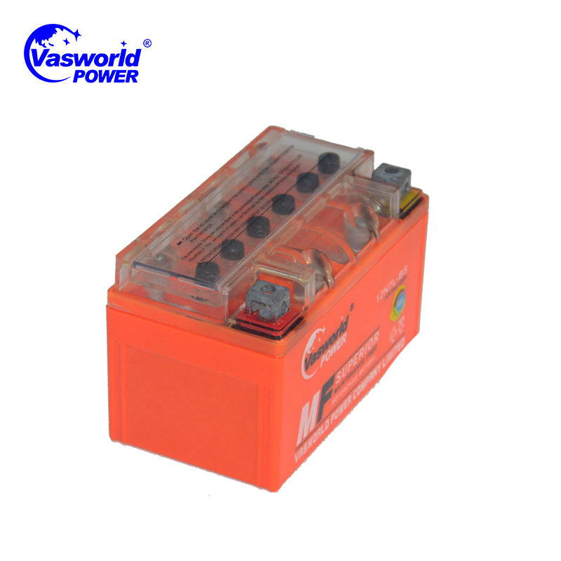 Motorcycle starting battery 12v 6.5ah motorcycle gel battery