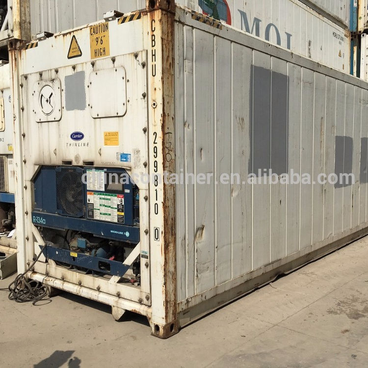 Used 40 Feet Carrier Reefer Container