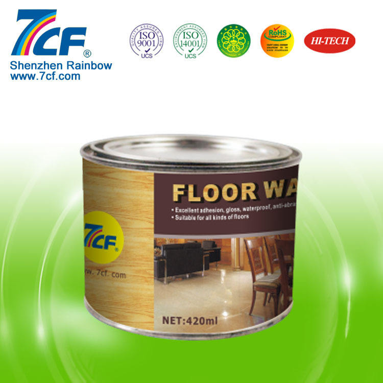 Tile floor wax products repair