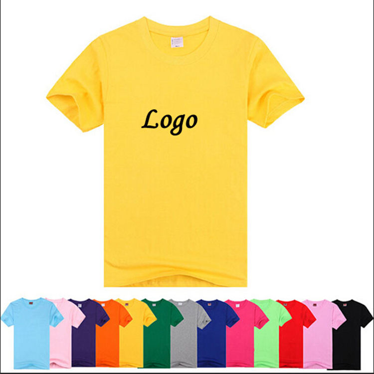 Wholesale Cotton Polyester Couple Blank Plain T Shirt Custom Printing For Men
