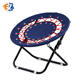 Outdoor Camping Foldable Bungee Dish Web Chair for Hiking Garden Patio