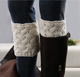 2019 Hot sale Short funny fashion girl Crochet Knit short Boot Cuffs