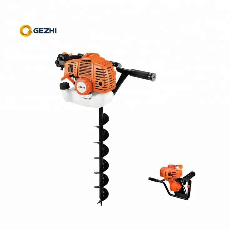 Hydraulic Post gasoline Hole Digger earth auger drill