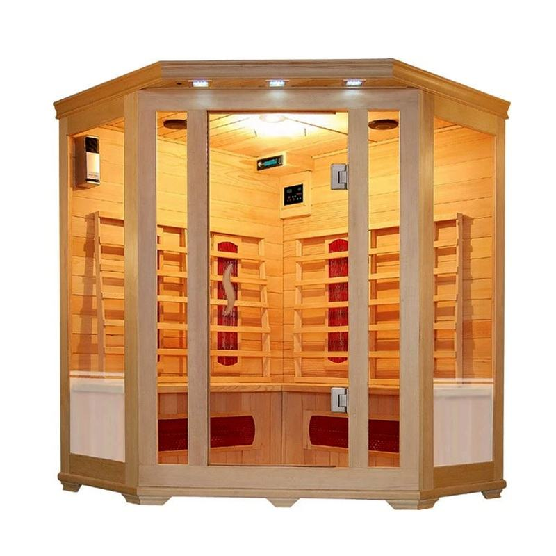 Packaging Customization [ Massage Rooms ] Massage Sauna Room Hot Near Infrared Sauna 18 Massage Rooms