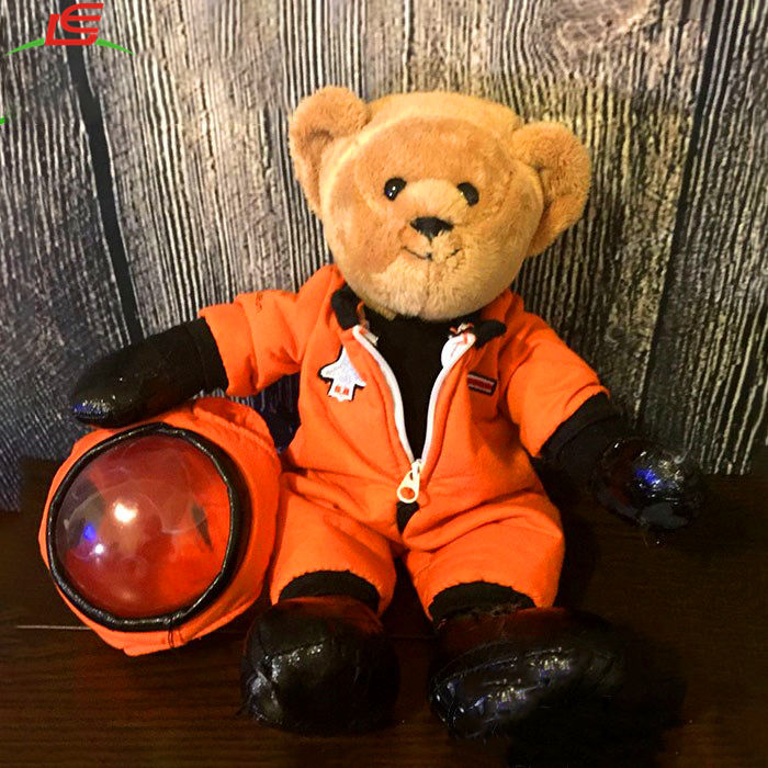 National Air And Space Museum Astronaut Plush Stuffed Animal Teddy Bear