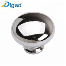 Zinc Alloy Kitchen Bedroom Furniture Fittings Small Pull Handle Chrome Plated Drawer Cabinet Knob