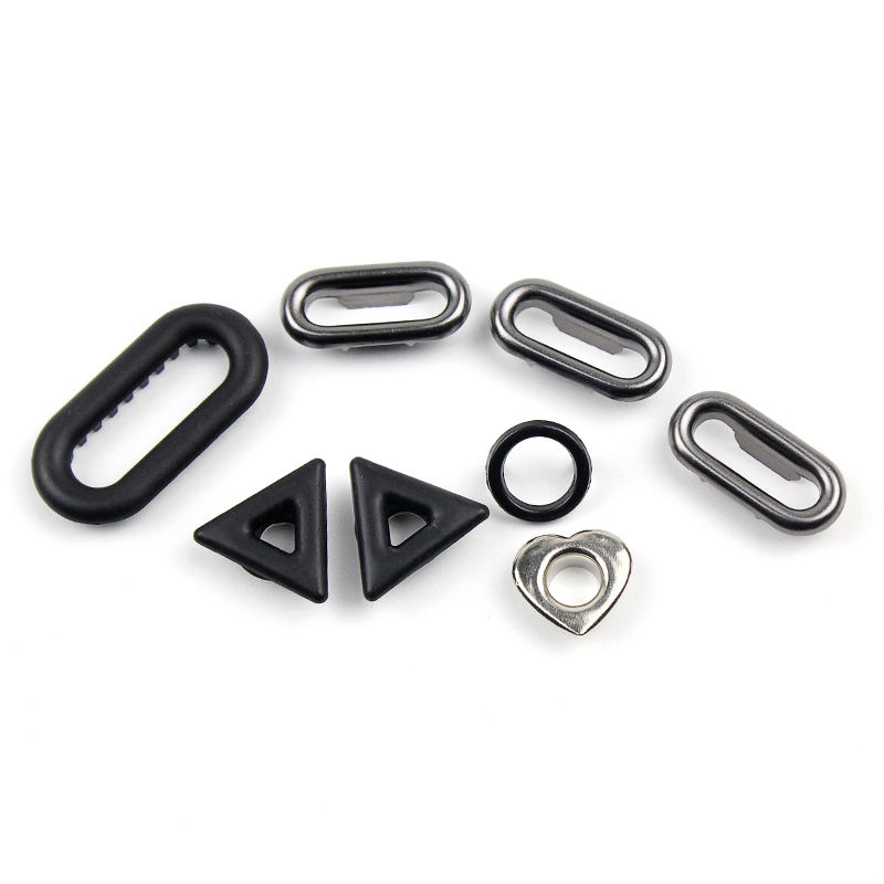 Good Price Wholesale or OEM Service Metal Square Triangle Rectangle Hexagon Oblong Oval Eyelets