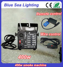 Cheap security wire remote control 400w mini smoke fog machine prices