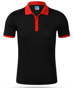 Custom your logo polo t shirt uniform unisex 100% cotton