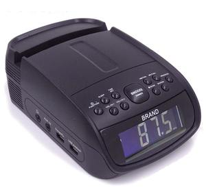 Alarm jam radio bluetooth digital