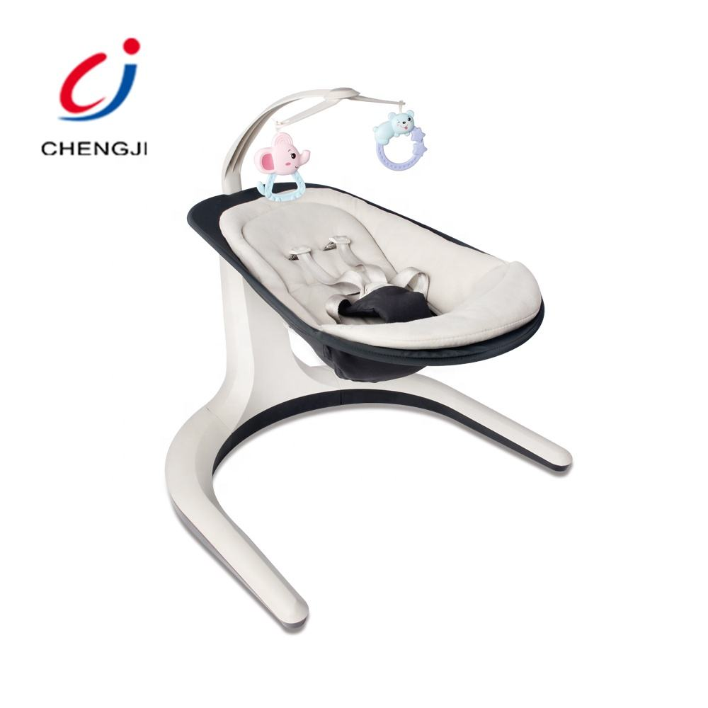 Electric automatic rocking sleeping bed baby cradle chair with music