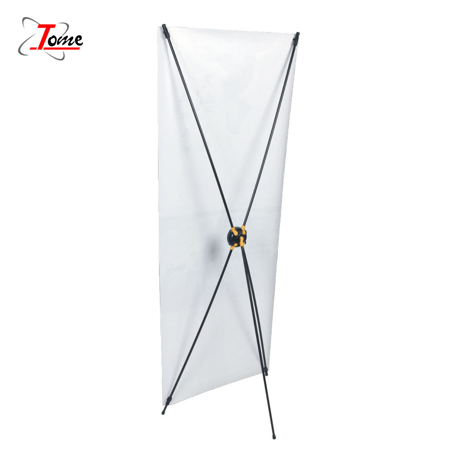 Factory Supply Gear X Banner Size 60*160/80*180cm,panda X-stand