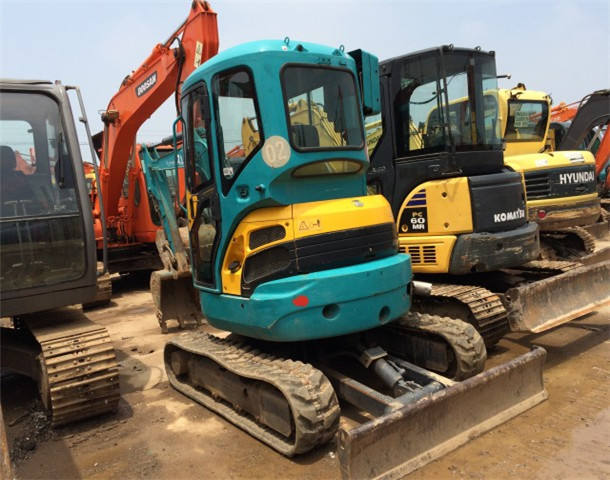 Japan original KUBOTA U35 3tonS mini excavator, low price used U35 MINI excavator in Shanghai