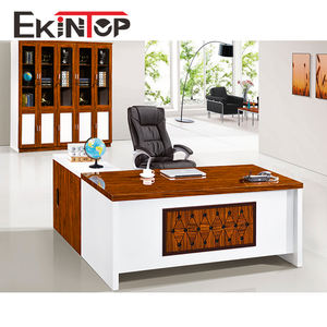 Particle board negotiation office writing consulting wood table