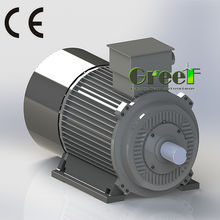 40kw 250rpm 3 phase ac low rpm Permanent Magnet Synchronous Generator/ low rpm Alternator