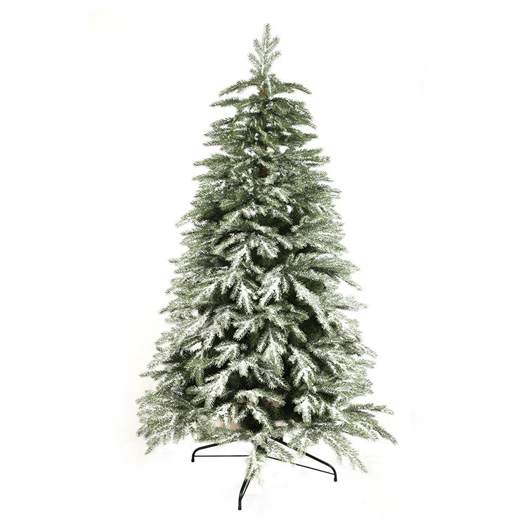 2021 New Mini Artificial PE Snowy christmas tree