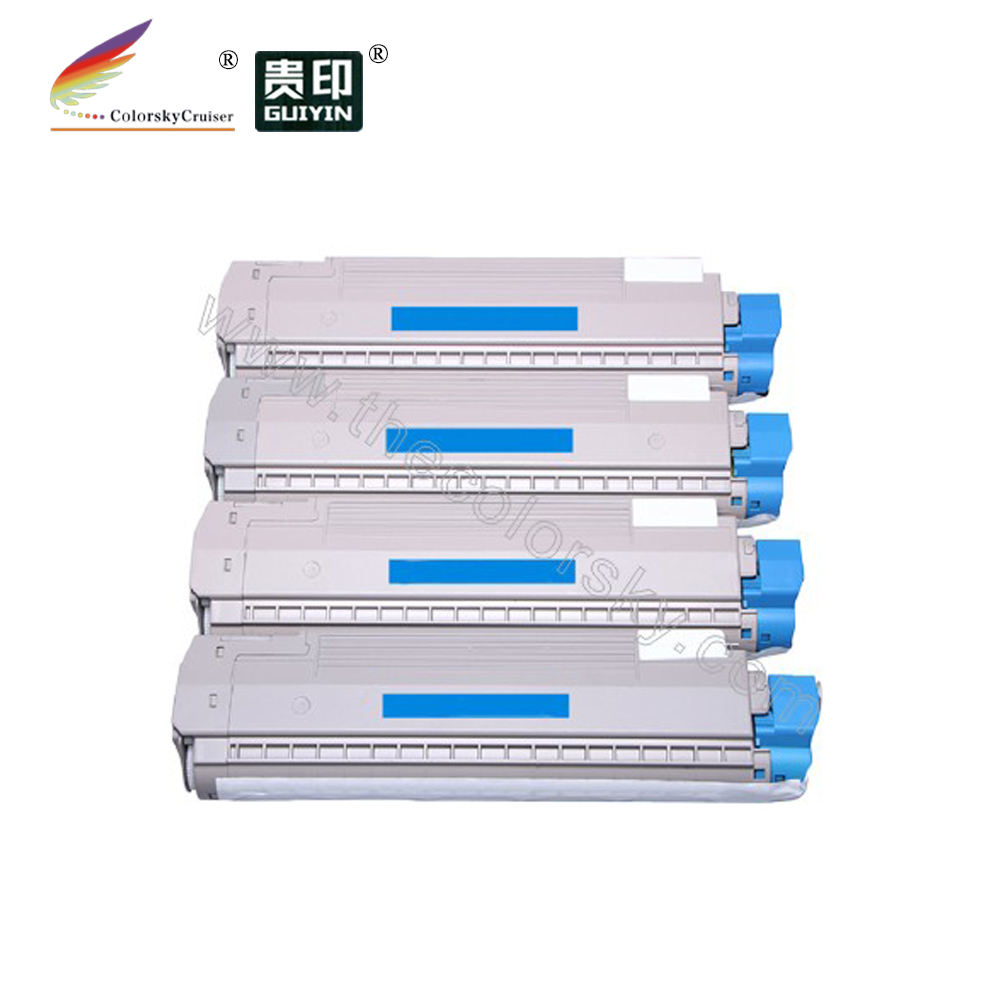 (CS-OC801) Color compatible toner cartridge for OKI 44643004 44643003 C801 C821 C821N C821DN (7k/7.3k pages)