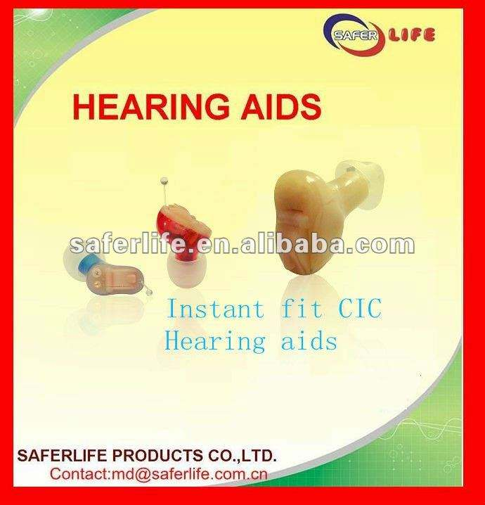 2015 New techinolgy Open Ear CIC Full digital 8 Channel ear hearing aids instant fit