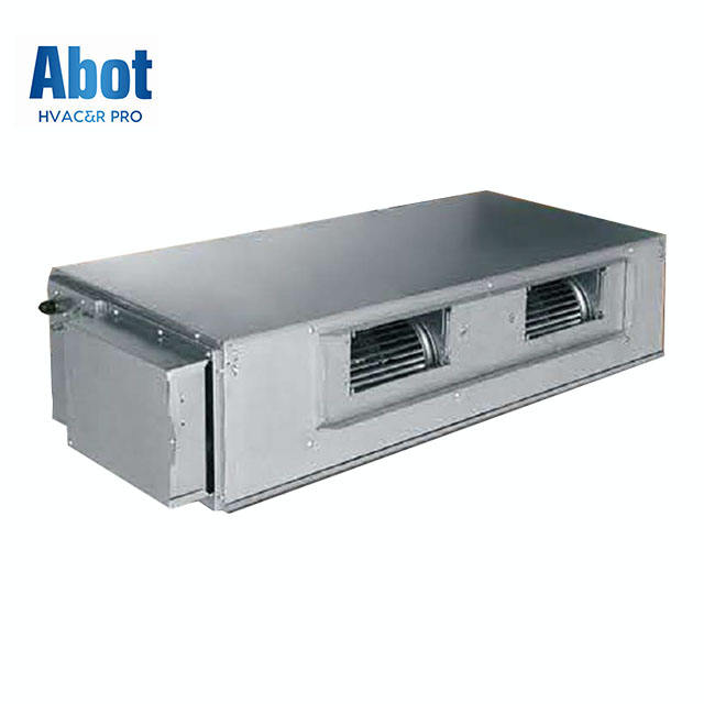 Gree Chilled Water High Static Pressure Duct Type Indoor Unit Fan Coil Unit fcu Ceiling Mounted